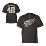 Adidas  - Reebok Detroit Red Wings Henrik Zetterberg Digital Camo Name and Number T-shirt 0885587614419  / UPC 885587614419