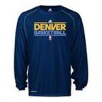 Adidas  - adidas Denver Nuggets Heathered ClimaLite Long Sleeve T-Shirt 0885587811658  / UPC 885587811658