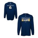 Adidas  -  Reebok Nashville Predators Shea Weber Player Code Long Sleeve Name and Number T-shirt 0885587837610