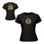 Adidas  - Reebok Boston Bruins Zdeno Chara Womens Player Name & Number T-shirt 0885587897584  / UPC 885587897584