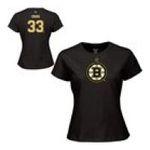 Adidas  - Reebok Boston Bruins Zdeno Chara Womens Player Name & Number T-shirt 0885587897614  / UPC 885587897614