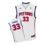 Adidas  - adidas Detroit Pistons Jonas Jerebko New Revolution 30 Replica Home Jersey 0885591002134  / UPC 885591002134