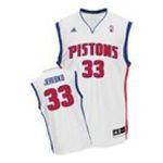 Adidas  - adidas Detroit Pistons Jonas Jerebko New Revolution 30 Replica Home Jersey 0885591002141  / UPC 885591002141