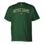 Adidas  - adidas Notre Dame Mens T-Shirt 0885591158145  / UPC 885591158145