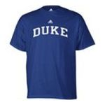 Adidas  - adidas Duke Blue Devils Mens T-Shirt 0885591158336  / UPC 885591158336