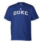Adidas  - adidas Duke Blue Devils Mens T-Shirt 0885591158343  / UPC 885591158343