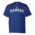 Adidas  - adidas Kansas Jayhawks Mens T-Shirt 0885591158428  / UPC 885591158428