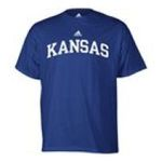 Adidas  - adidas Kansas Jayhawks Mens T-Shirt 0885591158435  / UPC 885591158435