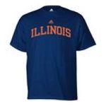 Adidas  - adidas Illinois Fightin Illini Mens T-Shirt 0885591158510  / UPC 885591158510