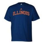 Adidas  - adidas Illinois Fightin Illini Mens T-Shirt 0885591158534  / UPC 885591158534