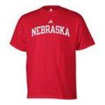 Adidas  - adidas Nebraska Cornhuskers Mens T-Shirt 0885591158947  / UPC 885591158947