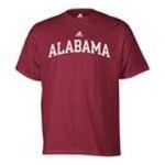 Adidas  - adidas Alabama Crimson Tide Mens T-Shirt 0885591159036  / UPC 885591159036
