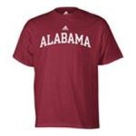 Adidas  - adidas Alabama Crimson Tide Mens T-Shirt 0885591159043  / UPC 885591159043