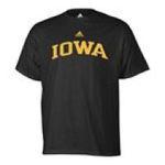 Adidas  - adidas Iowa Hawkeyes Mens T-Shirt 0885591159111  / UPC 885591159111