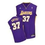 Adidas  - adidas Los Angeles Lakers Ron Artest New Revolution 30 Replica Road Jersey 0885591231947  / UPC 885591231947