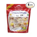 Yummy Earth -  Organic Lollipops Mango Tango 0890146001401