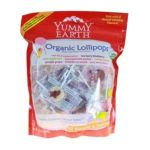 Yummy Earth -  Organic Lollipops Assorted Flavors 0890146001869