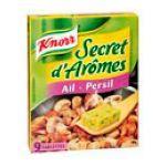 Knorr - Secret d'Arômes - Cubes ail et persil 3011360001252