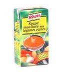 Knorr - Soupes liquides - soupe legumes varies brique | 50CL MOULINE LEGUMES VARIES KNORR 3011360002266