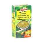 Knorr - Soupes liquides - mouliné de légumes verts | 50CL MOULINE LEGUMES VERTS KNORR 3011360002280