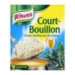 Knorr - court bouillon etui de 9 tablettes   3011360005564