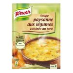 Knorr - Soupes déshydratées - Soupe paysanne aux légumes cuisinée au lard 3011360006042