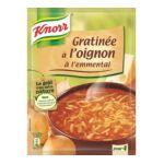 Knorr - Soupes déshydratées - Soupe gratinée à l'oignon à l'emmental 3011360006233