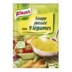 Knorr - Soupes déshydratées -  soupe a cuire sachet aluminium soupe passee 9 legumes vitamine quatre assiettes quatre assiettes par sachet  3011360006301