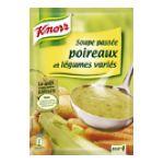 Knorr - Soupes déshydratées - Soupe passée legume et poireau epice quatre  3011360006325