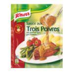 Knorr - Sauces déshydratées -  tradition du jour sauce sachet 3 poivres  3011360007254