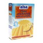 Alsa -  Flan onctueux saveur vanille 3011360010322