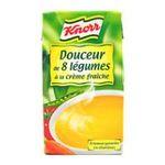 Knorr - Soupes liquides -  douceur soupe liquide brique / briquette standard douceur 8 legume creme fraiche  3011360013446