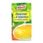Knorr - Soupes liquides -  soupe liquide brique / briquette standard douceur 8 legume creme fraiche  3011360013453