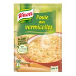 Knorr - Soupes déshydratées - Poule aux vermicelles | POTAGE POULE VERMICELLE DESHYDRATE 63G KNORR 3011360020017