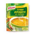 Knorr - Soupes déshydratées - Soupe potagère de légumes | POTAGERE DE LEGUMES DESHYDRATEE 4 ASS.KNORR 3011360020116