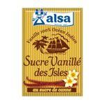 Alsa -  Sucre vanillé des îles , 7 sachets 3011360030108