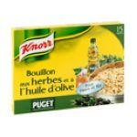 Knorr - Les bouillons - Bouillon aux herbes et à l'huile d'olives Puget - 15 tablettes  3011360031853
