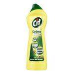 Cif -  nettoyant menager flacon plastique citron cuisine salle de bain a recurer creme  3011610057510