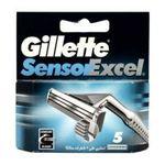 Gillette -  GILLETTE|CARG.GILLETTE SENSOR EXCEL 5 UD| 3014260144876