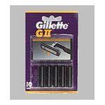 Gillette -  GILLETTE|CARG.G-II PAQ.10 UDS.| 3014260200039