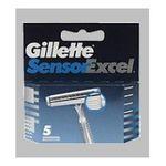 Gillette - GILLETTE|CARG.GILLETTE SENSOR EXCEL 5 UD| 3014260216658