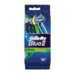 Gillette -  blue ii plus slalom 2cf rasoir jetable sachet plastique 12ctpivotant homme 2 lames  3014260221614