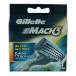 Gillette - GILLETTE|CARG.GILLETTE MACH3 PAQ.4 UD.| 3014260243531