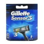 Gillette -  sensor 3 systeme lame de rasoir blister 8ctflexible homme 3 lames  3014260302344