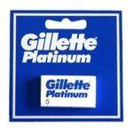 Gillette - GILLETTE|HOJA GILLETTE PLATINUM -PAQ.5-| 3014260596989