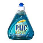Paic -  excel produit vaisselle a main flacon fermeture anti bacterien super concentre bleu liquide  3015810748407