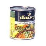 D'aucy -   legumes mixtes boite de conserve garniture de legumes  3017800004005
