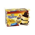 La Laitière - Feuilleté de mousse saveur vanille La laitière 4 x 12cl  3023290205099