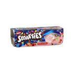 Smarties -  smarties yaourt pot bi-compartiment fraise standard standard  4ct  3023290400333