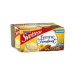 Sveltesse -  ferme et fondant yaourt pot plastique vanille et noix de pecan allege ferme standard  4ct  3023290419649